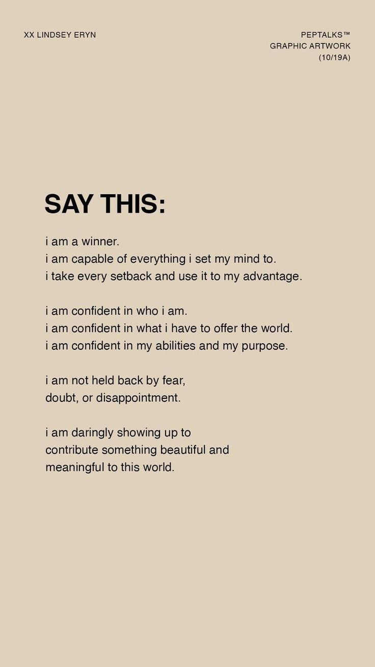 Positive Affirmations to Start the Day. #styleseat