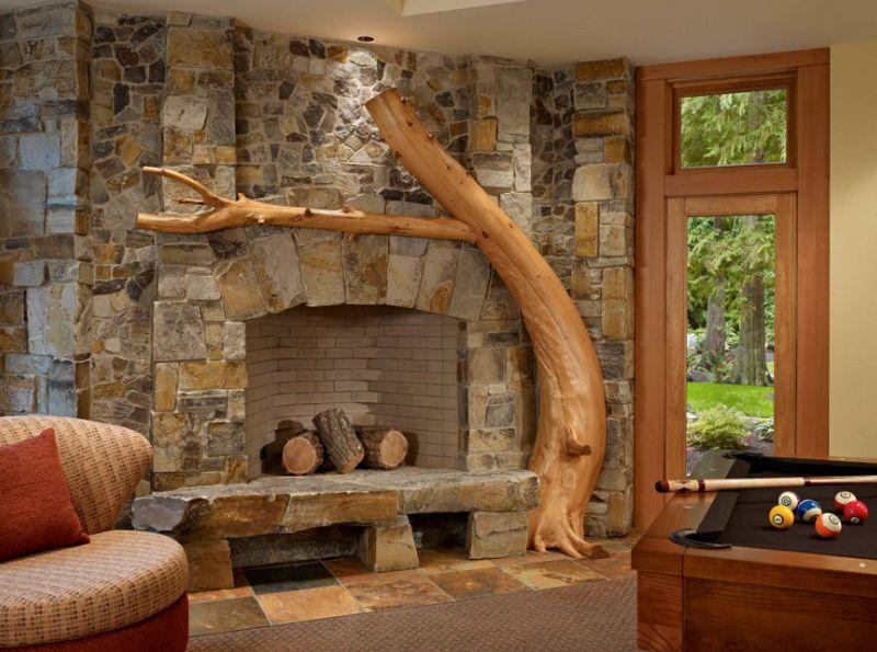 Декор из дерева: спилы, ствол, ветки. изделия. Фото идеи ...