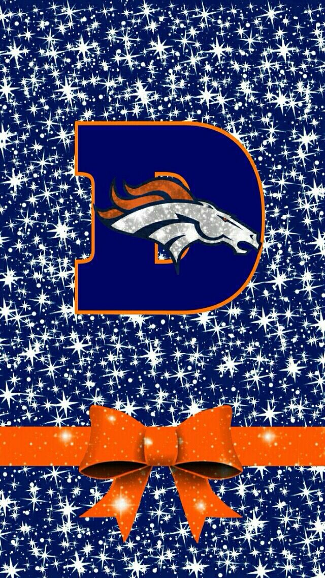 Orange and blue /sports iphone background Denver