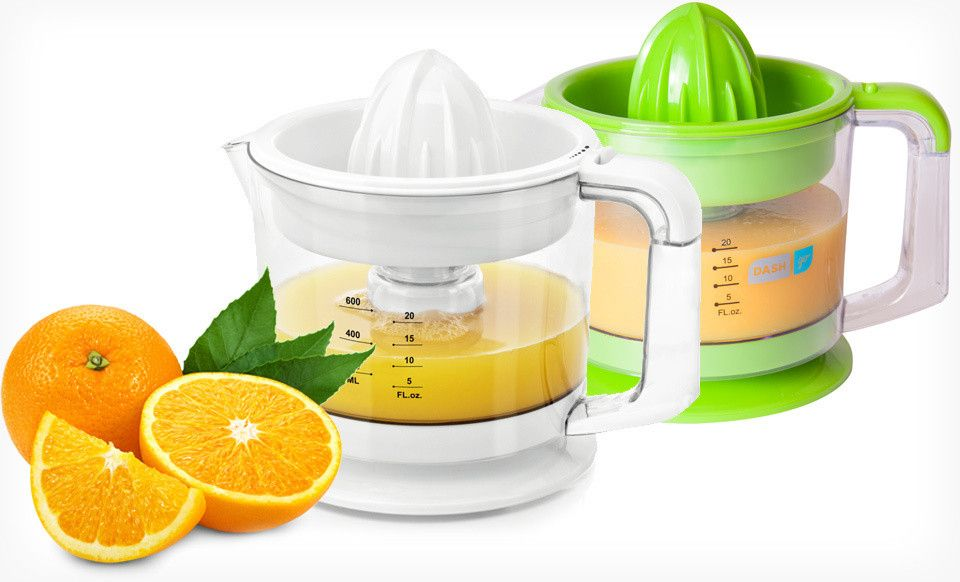 Groupon - $ 13.99 for a Dash Go Dual Citrus Juicer in Blue, Green, Red, or White ($ 29.99 List Price) . Free Returns.. Groupon deal price: $13.99