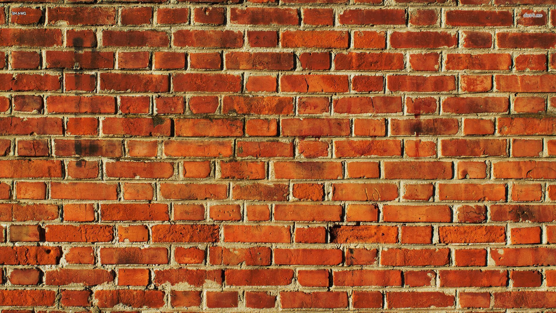 Brick wall wallpaper background factory pinterest for Wallpapering a wall