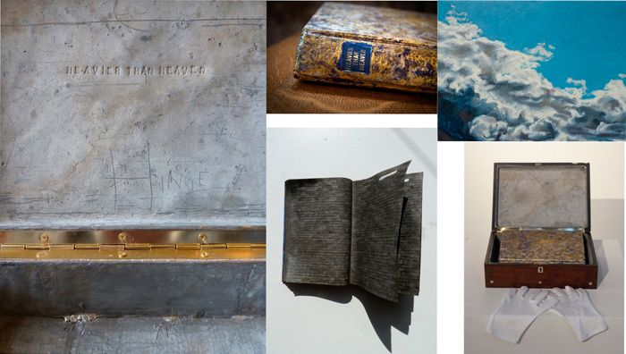 Linda-Ingham, Heavier Than Heaven, 2013-2014, longlisted in the Aesthetica Art Prize 2015 www.aestheticamagazine.com/artprize