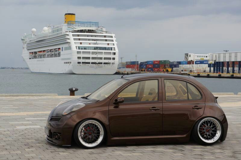 nissan micra k12 tuning modified | cars