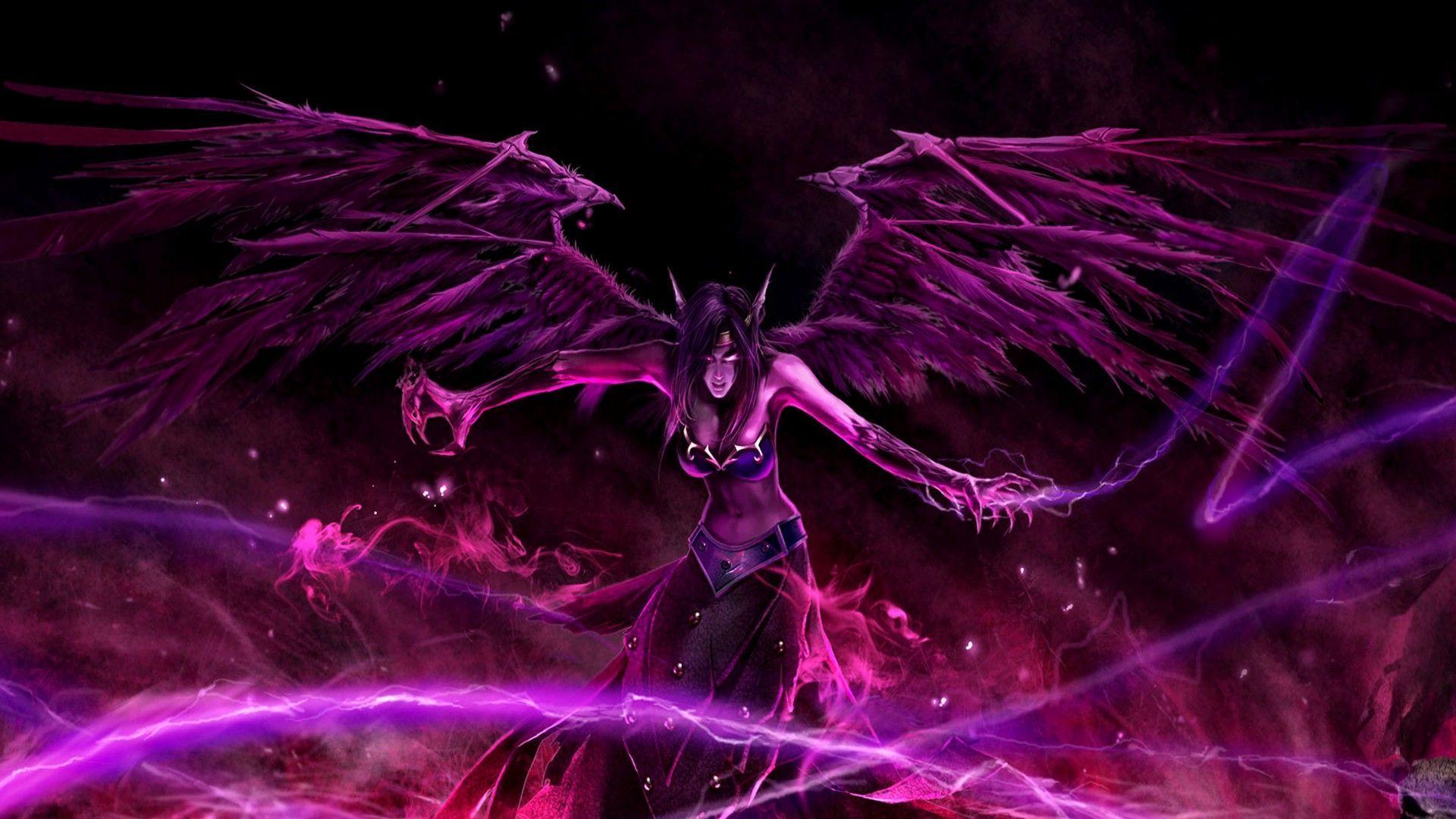 Morgana League Of Legends Wallpaper League Of Legends Lol League Of Legends League Of Legends Characters