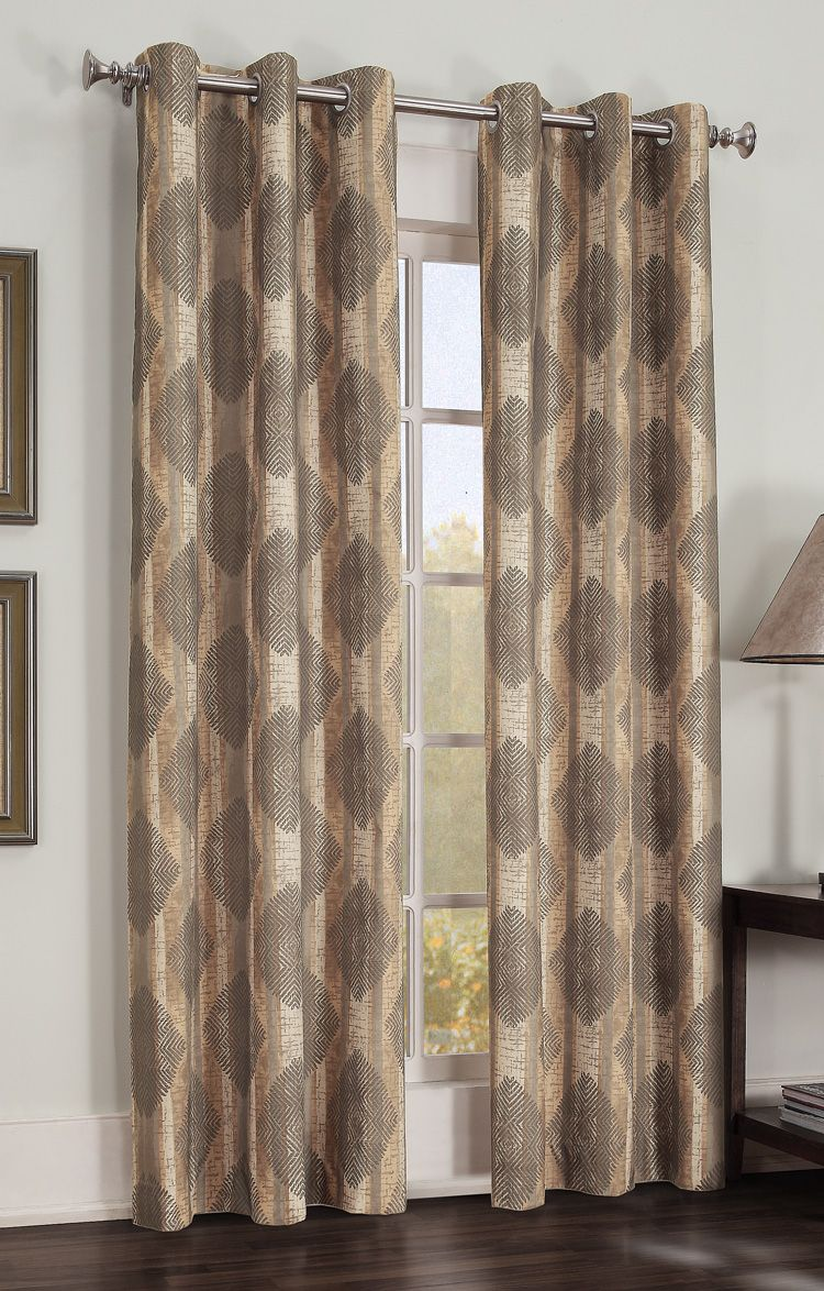 Gibson Is A Large Scaled Modern Diamond And Stripe Pattern Thermal
