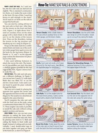 #2031 Dining Chair Plans - Furniture Plans