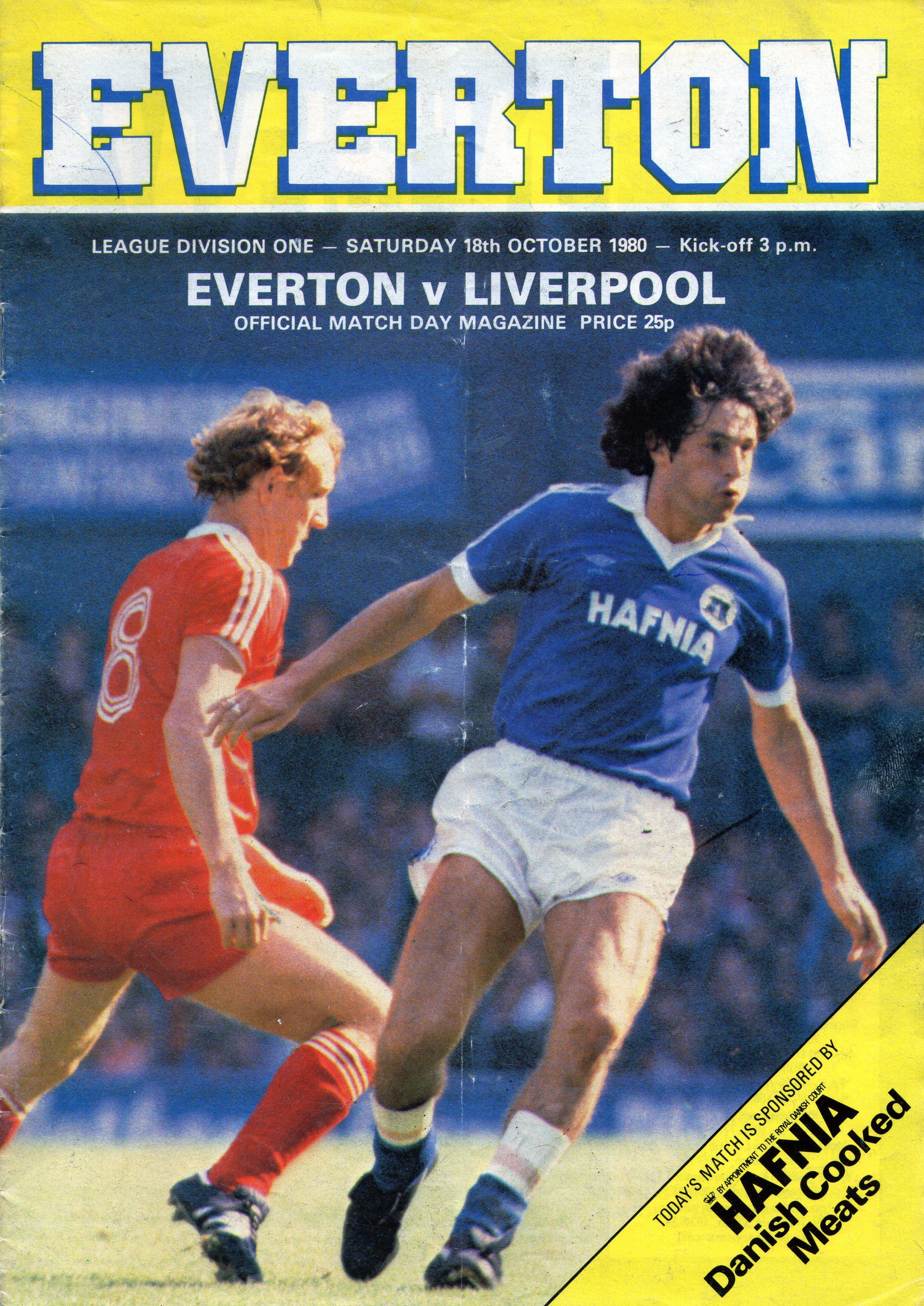 Pin on Everton season 198081