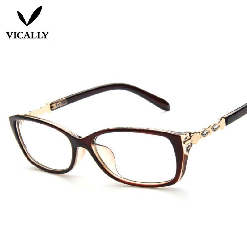 01198b086eb Fashion Eyewear Frames Optical Myopia Clear Lens Glasses Frame Female  Hipster Vintage Spectacle Frame Eyeglasses Women Brand