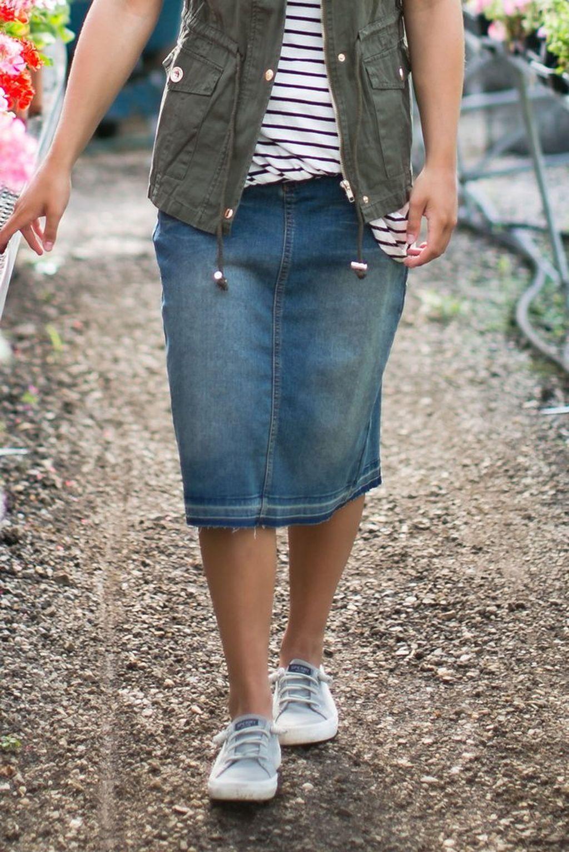 d449e6ee6 Pin de Kunates en Moda   Faldas de mezclilla, Vestidos y Moda faldas
