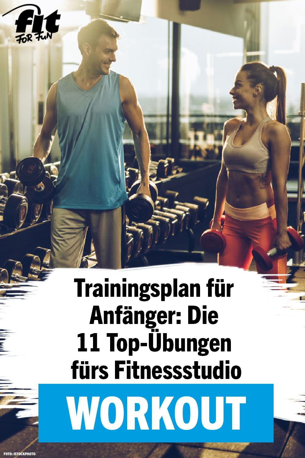 Photo of Training plan for beginners: The 11 top exercises for the gym – FIT FOR FUN
