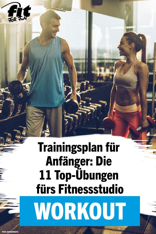 Photo of Trainingsplan für das Fitnessstudio: 11 effektive Übungen