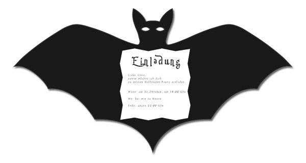 Fledermaus Einladung Halloween Einladung Einladungen Einladungen Kinder