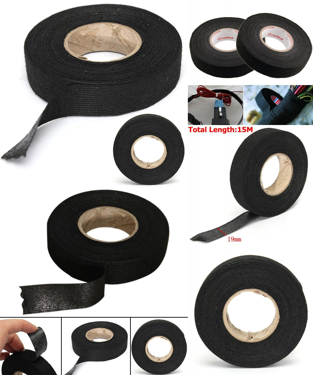 Visit To Buy 1pc Wiring Harness Tape Strong Adhesive Cloth Fabric Loom For Looms