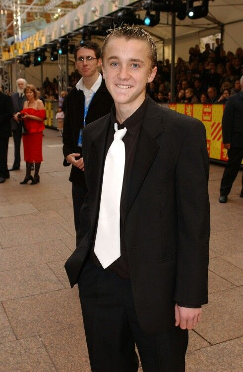 Chamber Of Secret Premiere Tom Felton Tom Felton Harry Potter Draco Malfoy