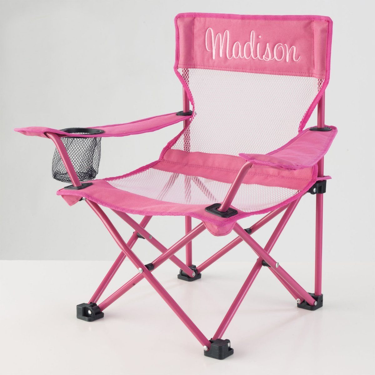 Kidkraft Personalized Pink Camping Chair Www Hayneedle Com
