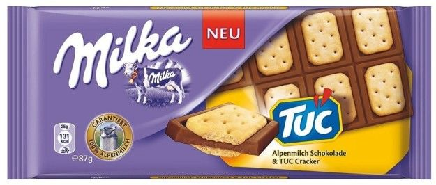Milka Tuc Which Combines The Magnificence Of Swiss Milk Chocolate
