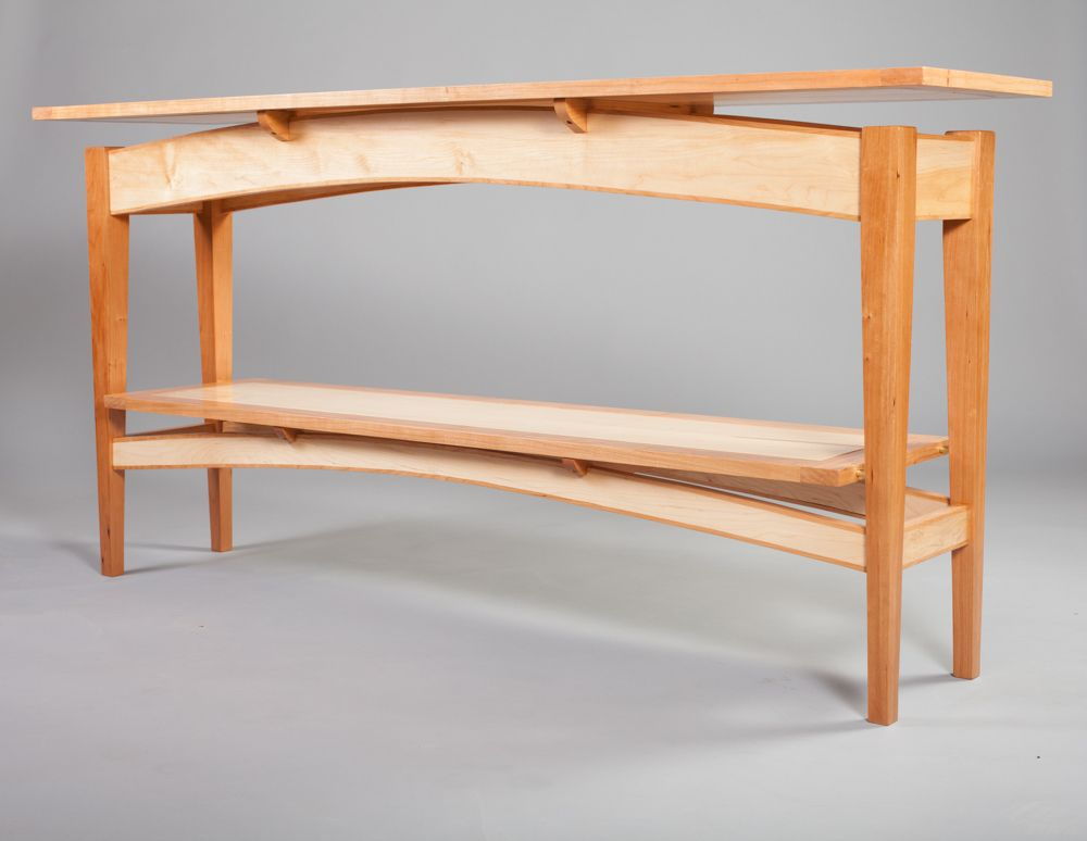 TJGwoodworking :: Floating top side table