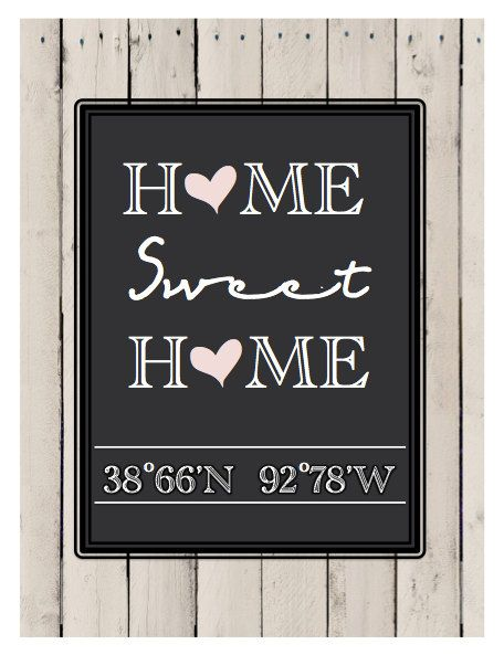 housewarming gifts...customize your own!