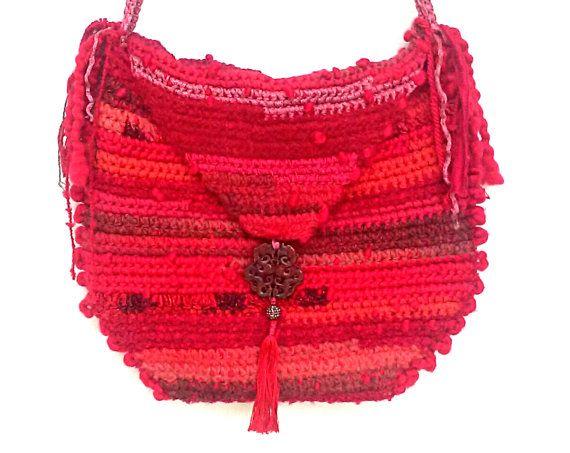 Dragon Red  Messenger Bag