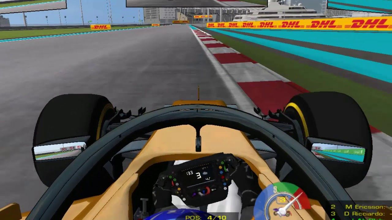 RFactor : F1 2018 Abu Dhabi Run | Game