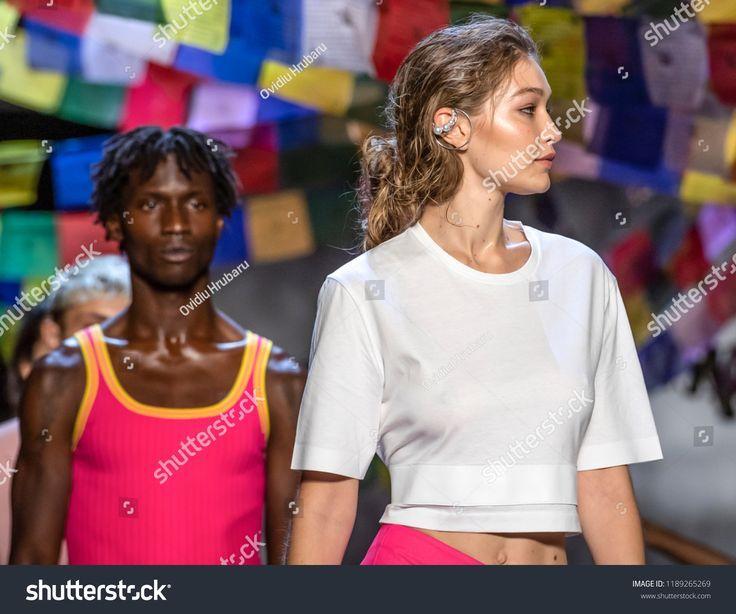 Hadid Gigi runway walks+#classpintag