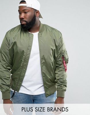 f063a324f6e Alpha Industries PLUS - Chubsters are fond of Big and Tall Men s fashion  clothes - Vêtements