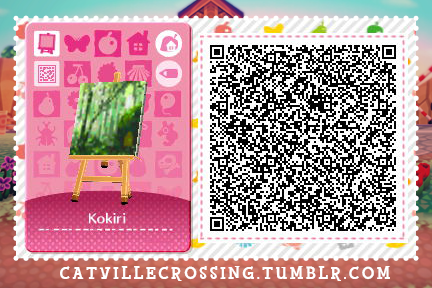 Legend Of Zelda Image Qr Code For Animal Crossing Animal