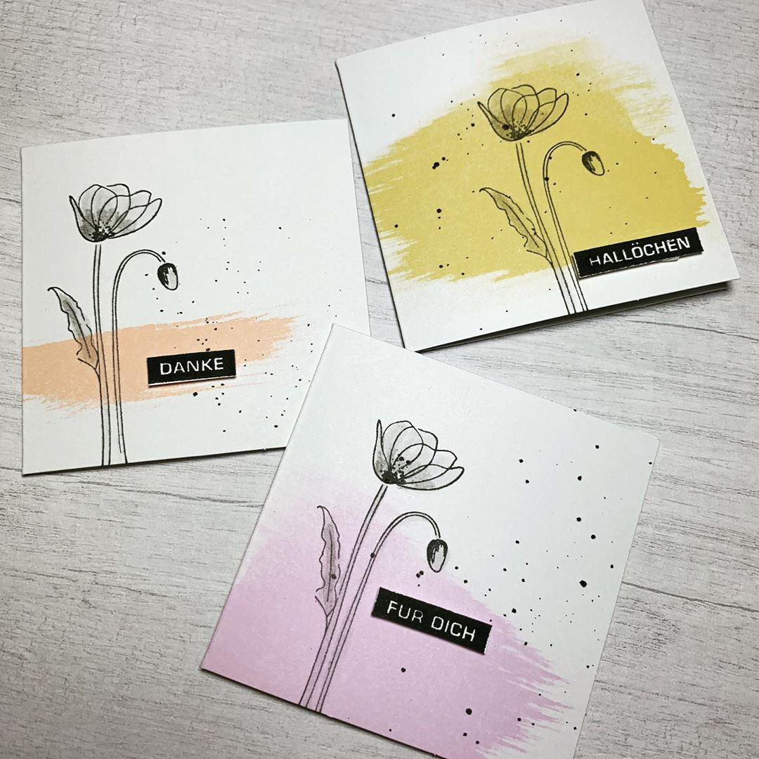 Cards Image By Ella Stone In 2020 Poppy Cards Greeting Cards