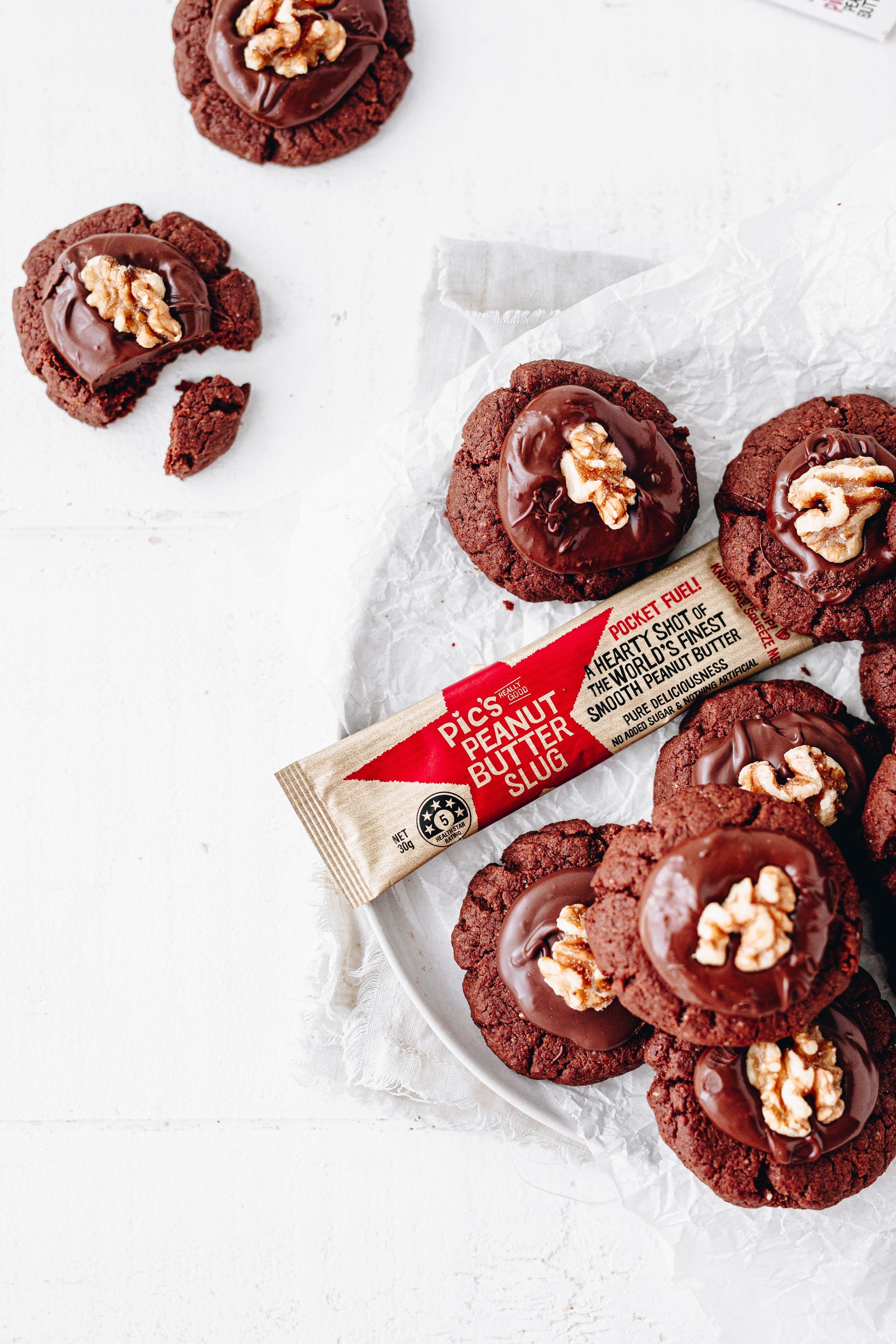 Choc peanut butter afghan biscuits in 2020 sugar free