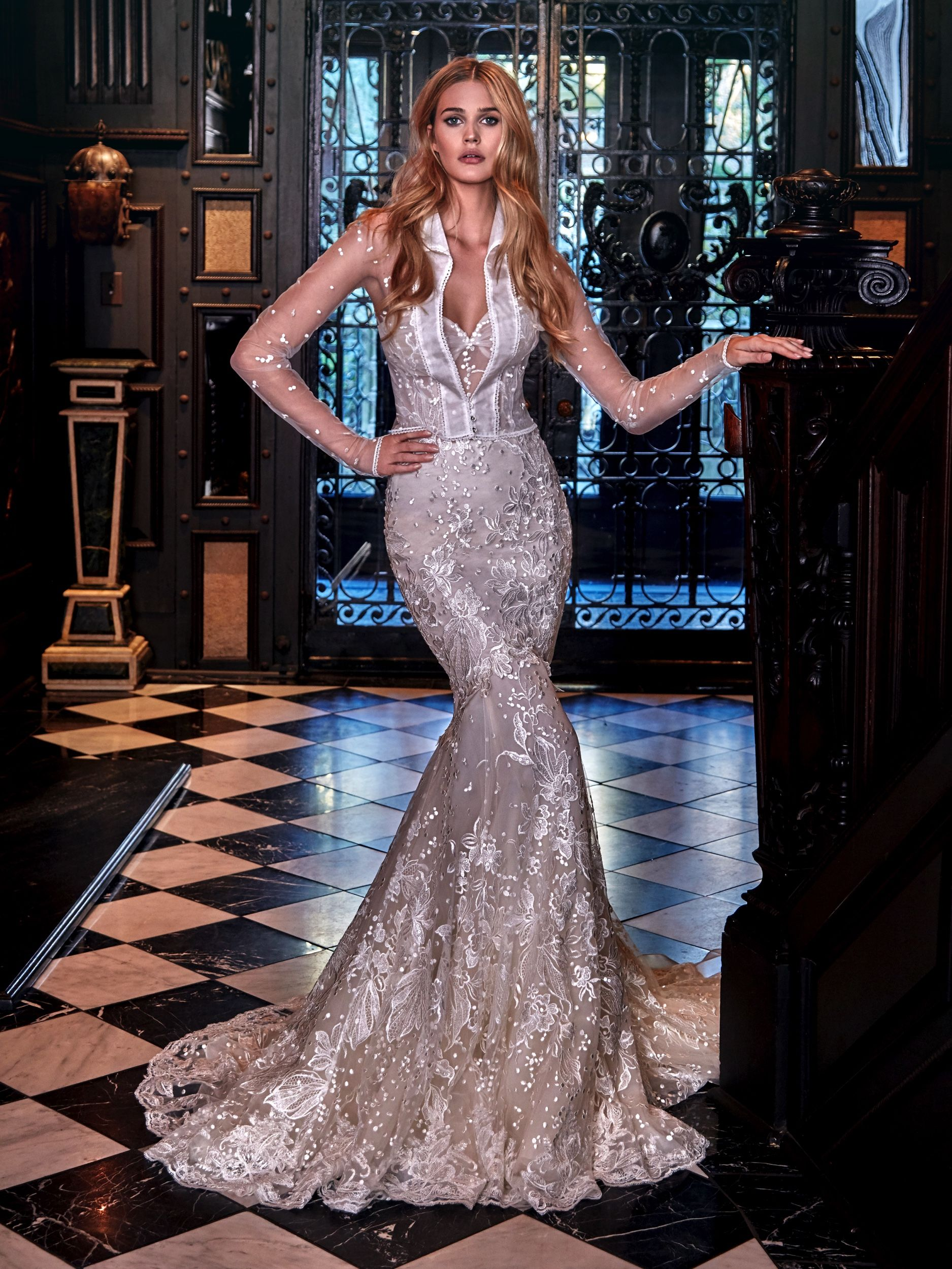 Vintage pearl bridal blog real brides news amp updates wedding - Galia Lahav Lidya Wedding Gown Extravagant And Unique As Its Own The Desire For A Galia Lahavbride