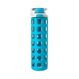 $14.99 Ello Syndicate 20oz Glass Water Bottle. Available @TargetStores I love my grey Ello bottle, also available in coral, pink and blue.