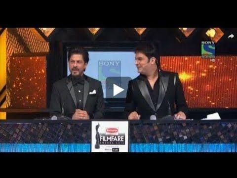Shahrukh khan And Kapil sharma comedy in Award show 2018