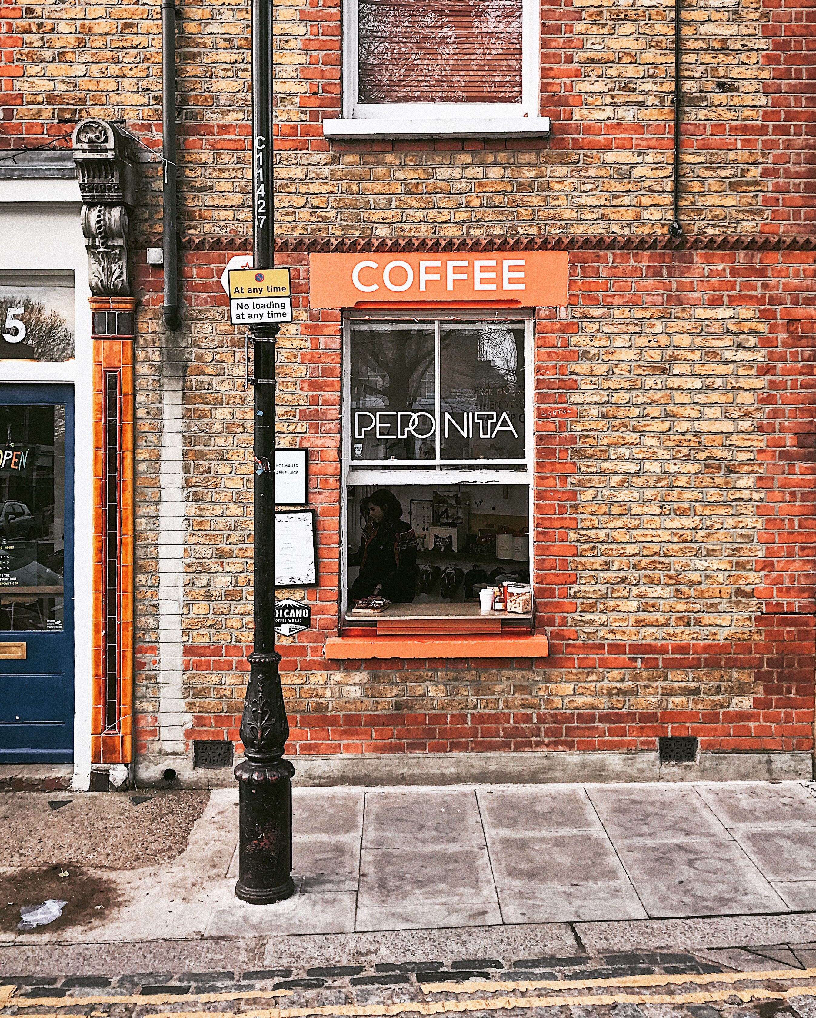 hole in the wall coffee at peponita columbia road london on hole in the wall id=76200