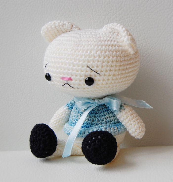Amigurumi Kitty | ♥ Amigurumi!! ♥ Community Board | Pinterest ...