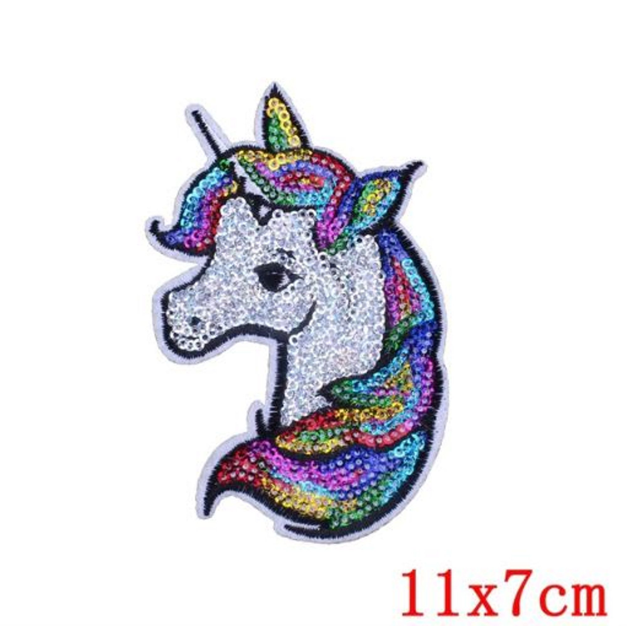 Cute Unicorn Embroidered Patch Iron On Sewing Applique Badge Apparel Craft DIY