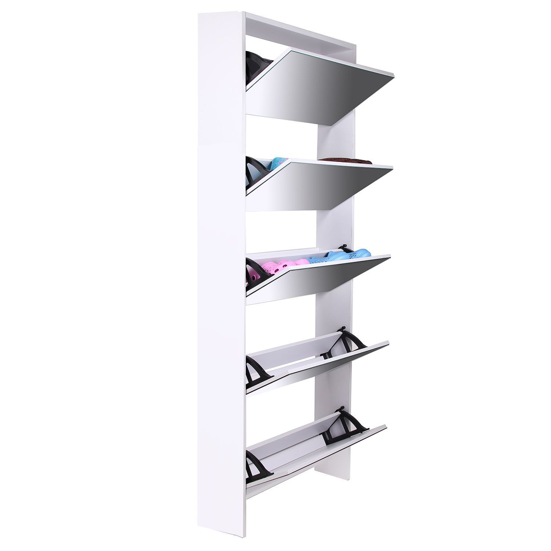 Organizador de zapatos con espejos accesorios hogar - Organizadores hogar ...