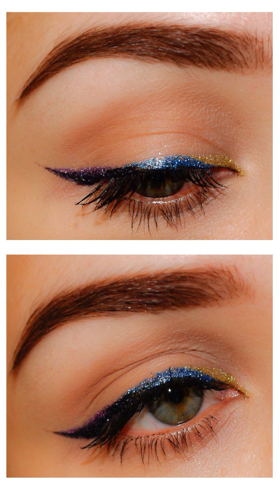 Glitter liner to add sparkle to your eyes