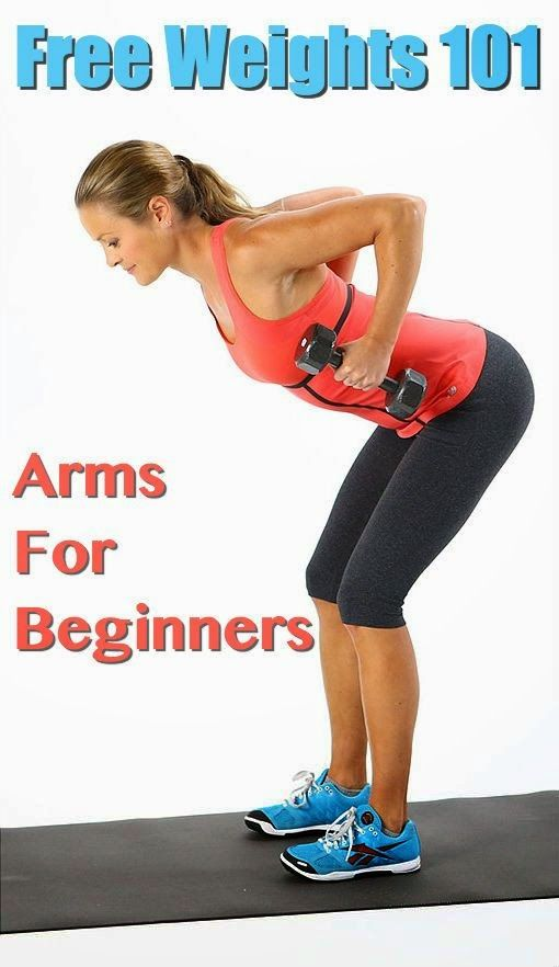 Free Weights 101 - Your Beginner-Friendly Arm Workout | Fit Villas