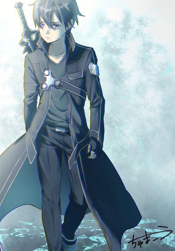 Take This Quiz And Find What Anime Boy Has A Crush On You Person Befor Me Wait What I Am Searchi Sword Art Online Wallpaper Sword Art Online Kirito Sword Art