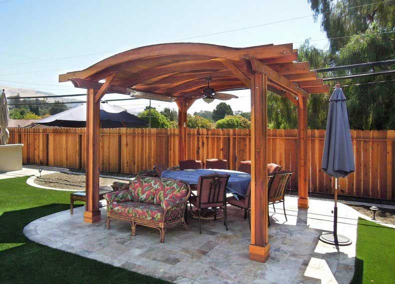 Wood Roof Over Patio   Google Search