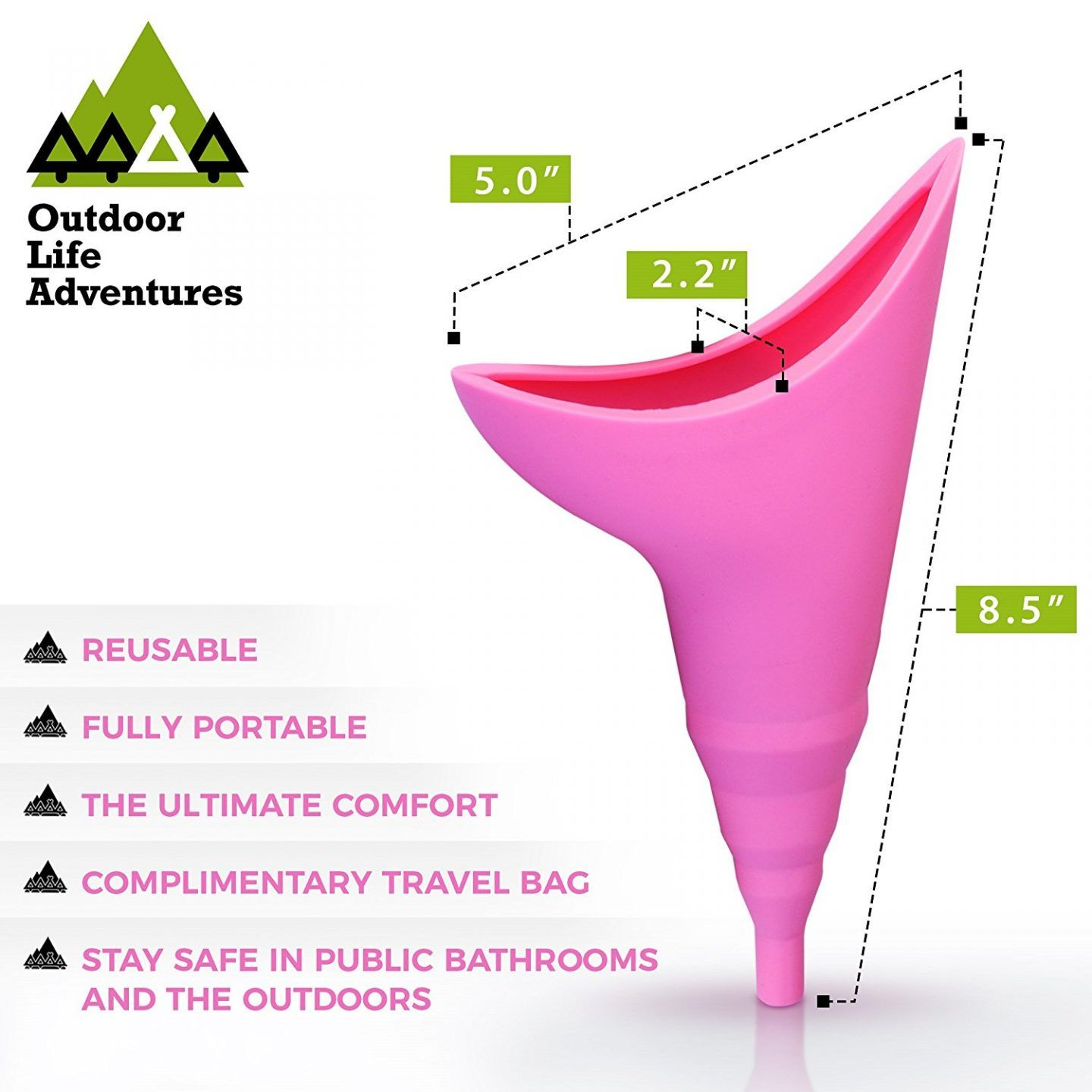 Paper Women Pregnant Urination Device Pee Cup for Outdoor Travel Camping Hiking