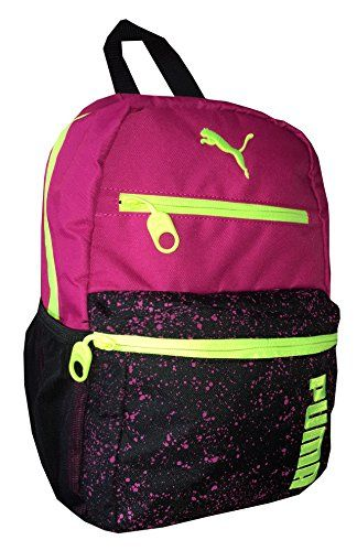Puma Girls Boys Meridian Backpack Pinkblack ** Check this awesome product  by going to the