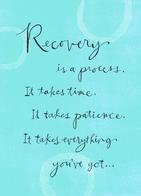 Blue Recovery Process | inspirational. | Pinterest | Addiction