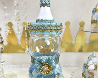 royal prince baby shower centerpiece boys royal blue and gold baby shower centerpiece prince baby shower themes and decorations