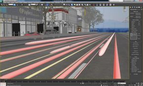 3ds Max Tutorial Create Blurred Car Lights In Your Night Visualizations 3ds Max 3ds Max Tutorials Car Lights
