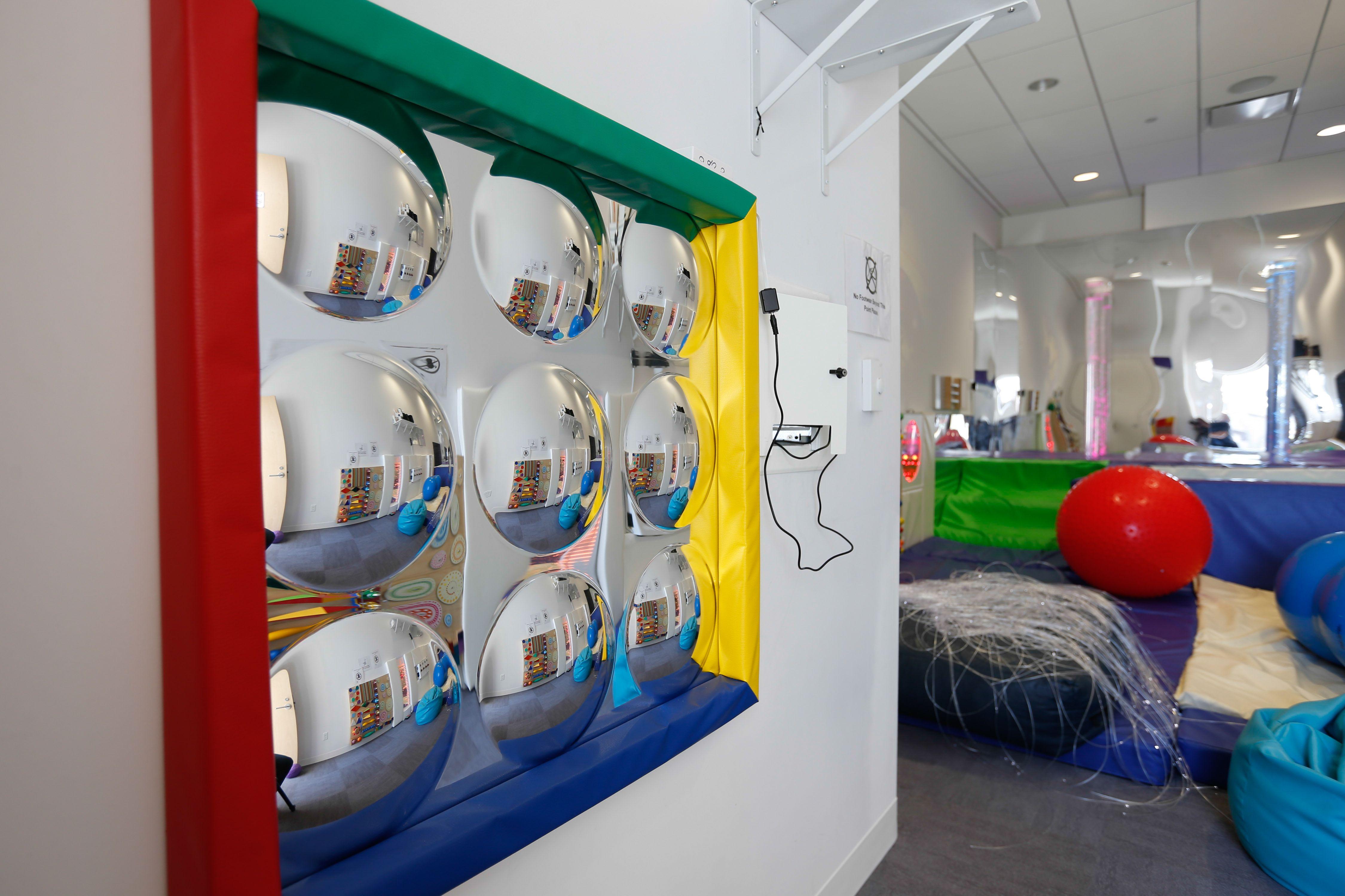 The Multi Sensory Room In Cornell Community Centre Used