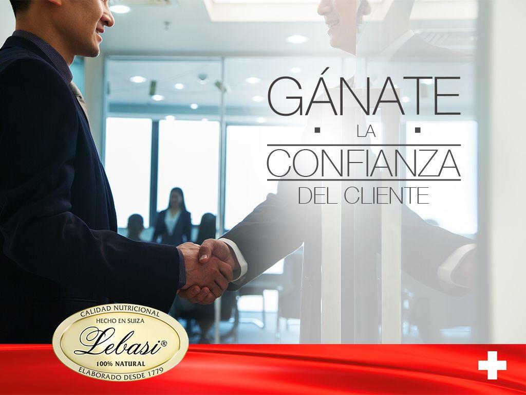 Gánate la confianza del cliente