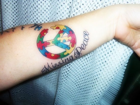 30 Digital Autism And Autism Tattoo Designs With Meanings Autism