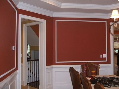 Moulding Designs For Walls thrifty decor chick our homeso many wonderful spaces in this home 17 Images About Home On Pinterest Crown Molding Installation