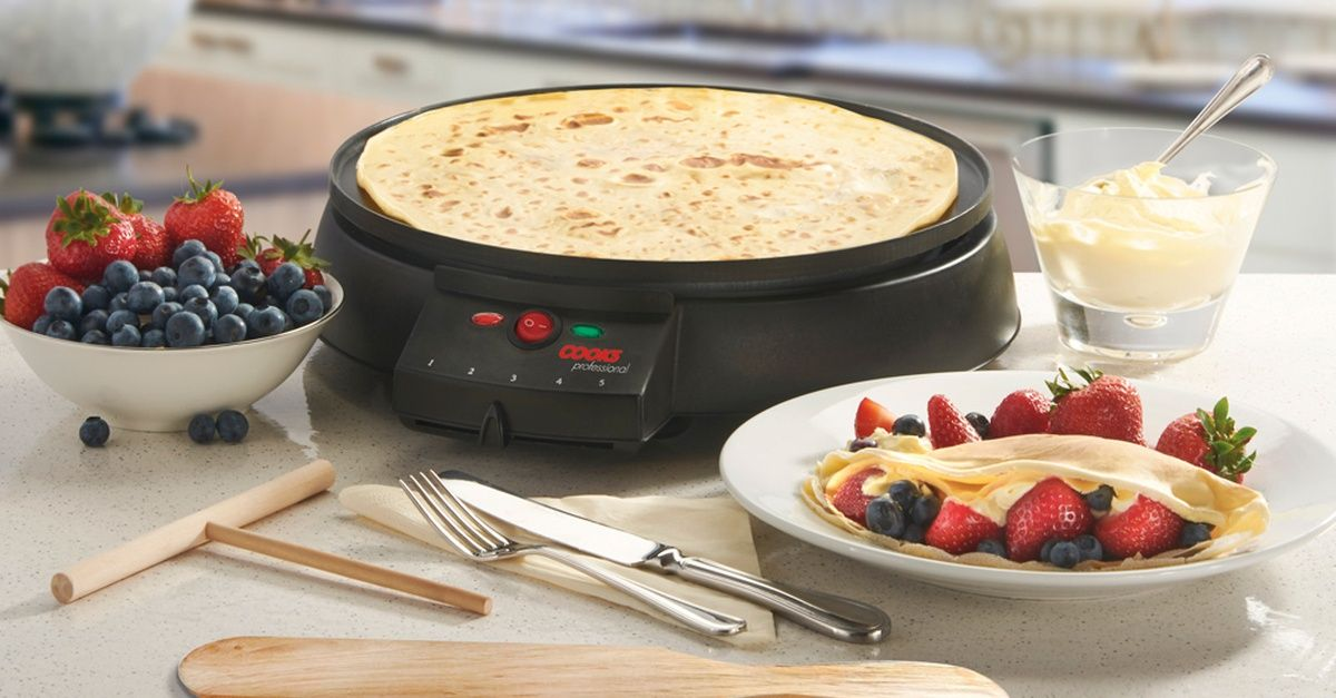 Cooks Professional Electric Crepe and Pancake Maker